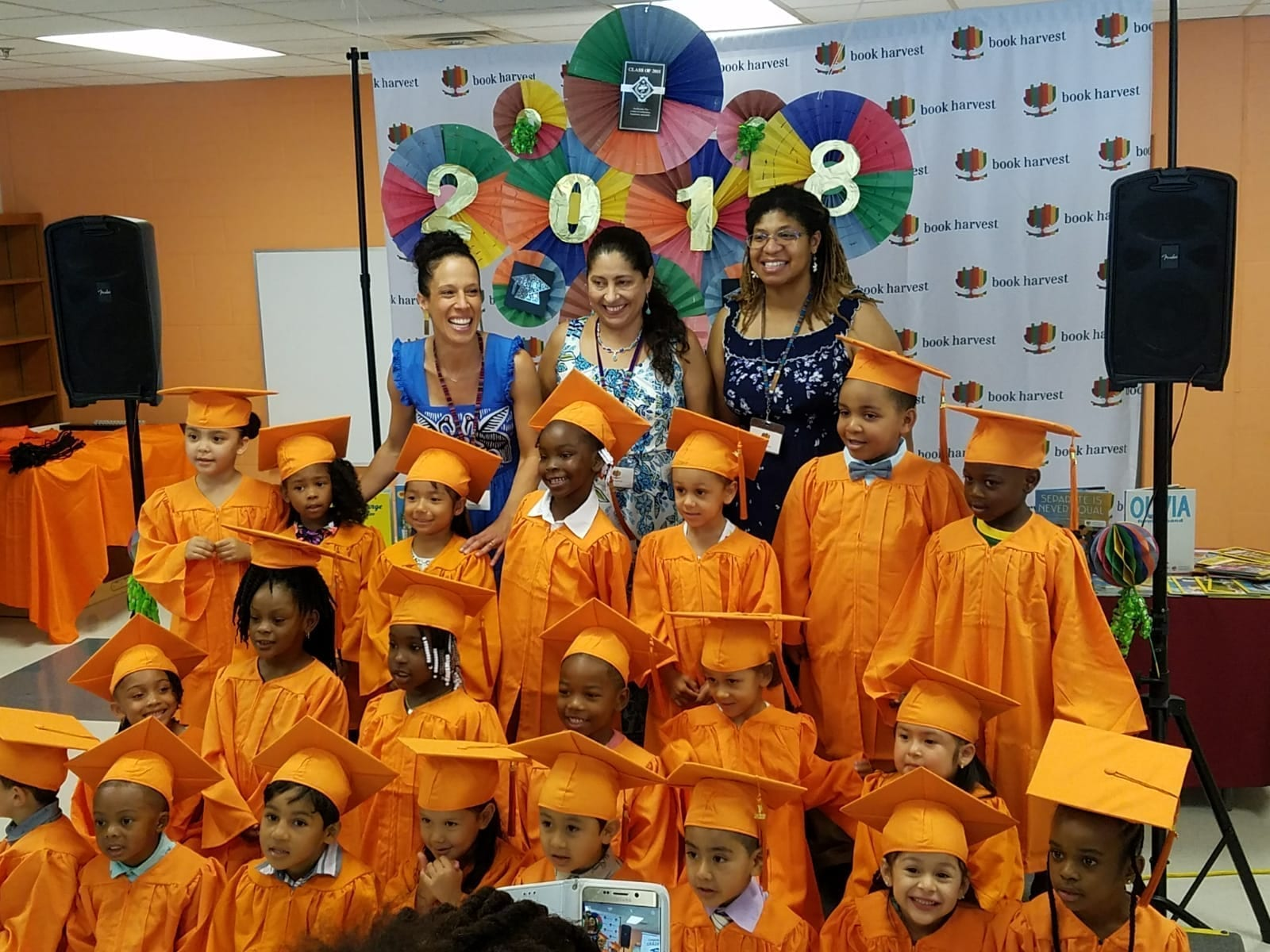 Our inaugural class of Book Babies graduates!
