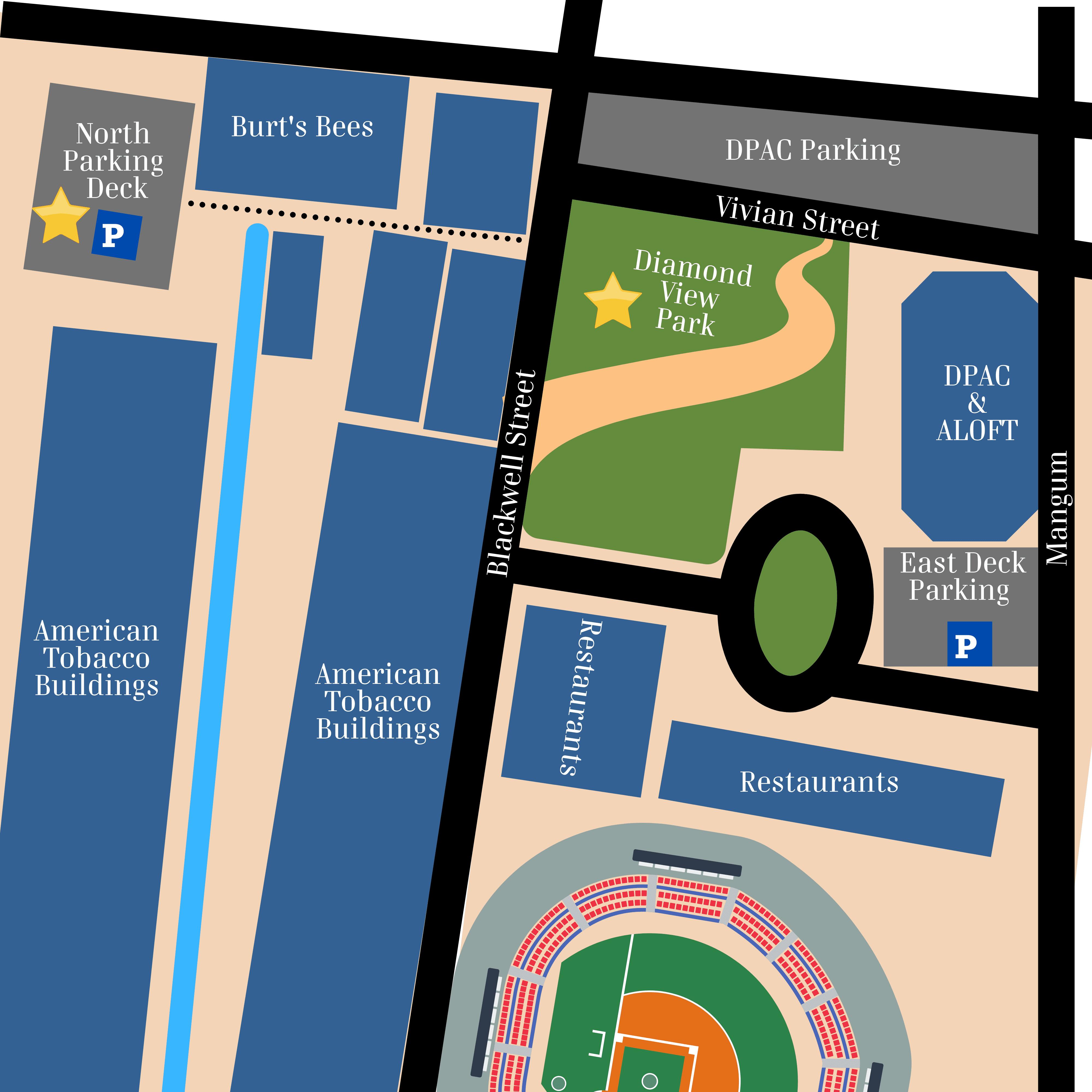 Diamond View Map Graphic